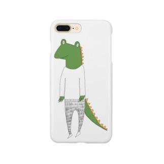 crocodile カラーバージョン Smartphone cases