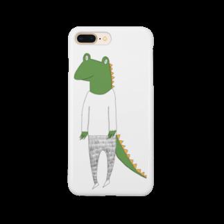 Tommy_is_mozukuのcrocodile カラーバージョン Smartphone cases