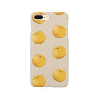 にくらしい梨 Smartphone cases