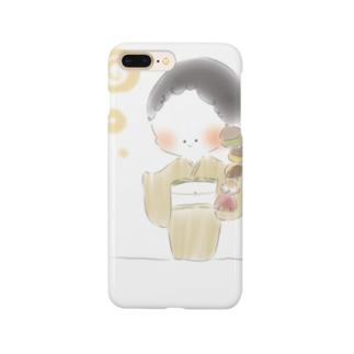秋のおさげちゃん3 Smartphone Case