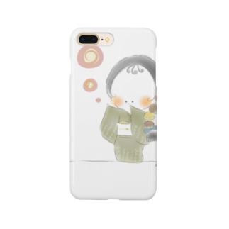 秋のおさげちゃん2 Smartphone Case