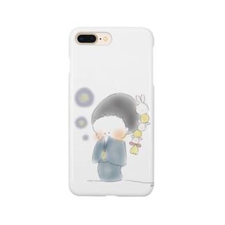 秋のおさげちゃん1 Smartphone Case