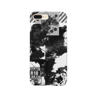 白黒携帯ケースさん Smartphone cases