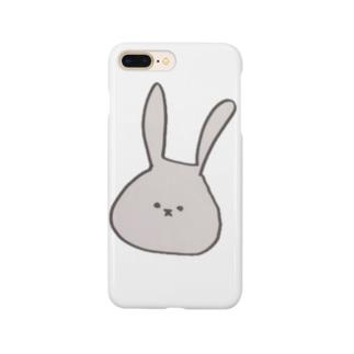 かわいいうさぎ。色付き Smartphone cases