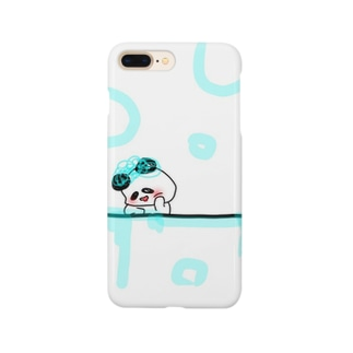 ぷかぷかぱんだ!! Smartphone cases