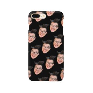 スマイルさんひょんぬ・ブラックエディション Smartphone cases