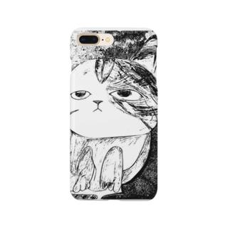 なんとも言えない表情の子猫ちゃん Smartphone cases