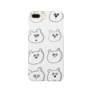 Tommy_is_mozukuの🐻 Smartphone cases