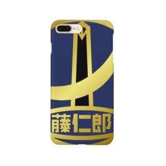 パ紋No.30874 藤仁郎 Smartphone cases