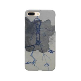 鬱染み Smartphone cases