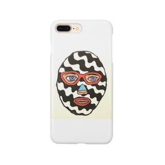 ストライプマスクマン Smartphone cases