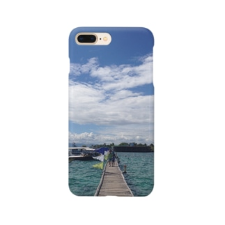 the ocean, the sky Smartphone cases