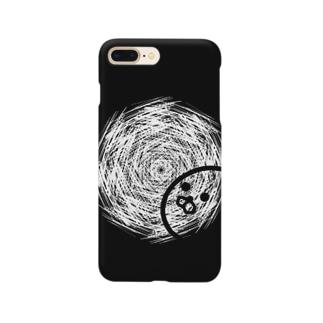 結晶にうつりこむアザラシ Smartphone cases
