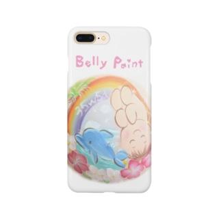 赤ちゃんとイルカ スマートフォンケース