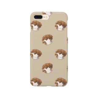 にくらしいマイタケ Smartphone cases