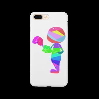 茶芽のあく君 Smartphone cases
