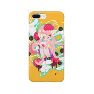 イチゴミルクタピオカ Smartphone cases
