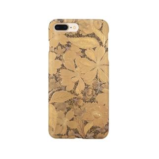 桜花蒔絵文箱 Smartphone cases