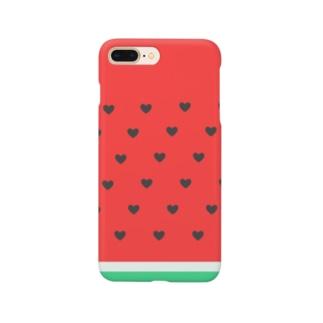 スイカ Smartphone cases