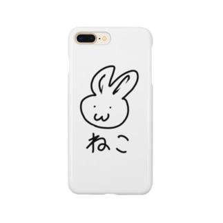 ねこうさぎ Smartphone cases