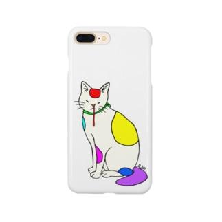 背筋良い猫 Smartphone Case