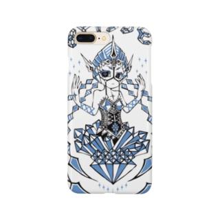 鋲嬢:4【びょーじょー:フォー】 Smartphone cases