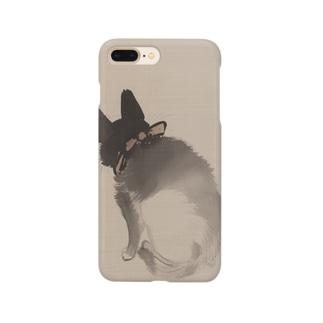 川端玉章 猫図  Smartphone cases