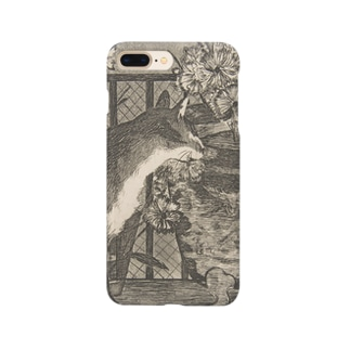 Édouard Manet  Cat and Flowers Smartphone cases