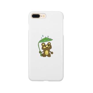 おタヌキ Smartphone cases