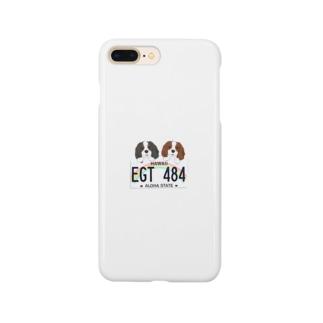 キャバリアさんとハワイプレート Smartphone Case