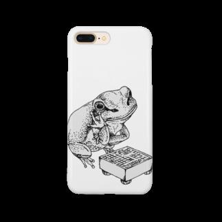 をかしの将棋かえる Smartphone cases