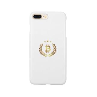 gold BTC Smartphone cases