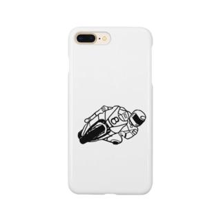バイクレース Smartphone cases