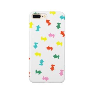 カラフル金魚 Smartphone cases