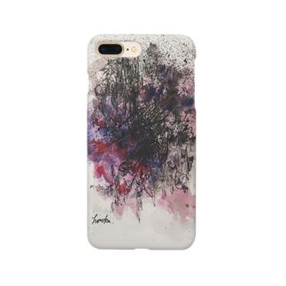抽象画iPhoneケース Smartphone cases