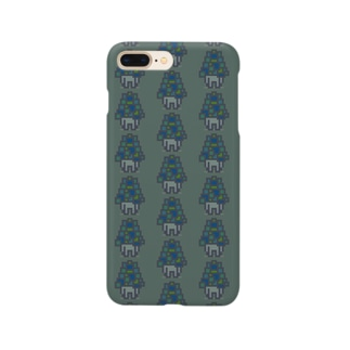PatchingMushroom iPhoneケース Smartphone cases