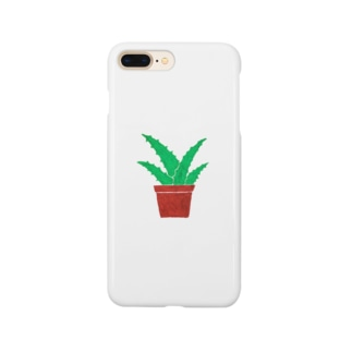 となりのアロエ Smartphone cases