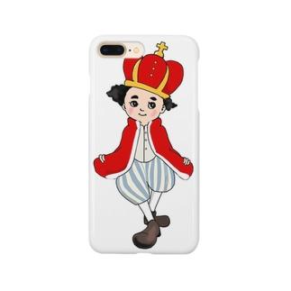 リトルキング Smartphone cases