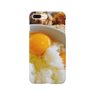卵かけご飯・から揚げ Smartphone cases
