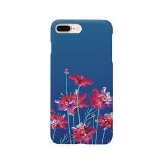🌹金魚・花🌹 Smartphone cases