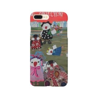 文鳥一家のファッションショー Smartphone cases