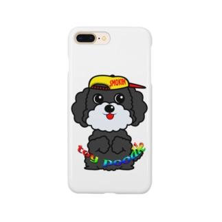 ちんちんトイプードル Smartphone cases