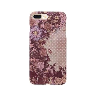 幸せのリース<ピンクセピア> Smartphone Case