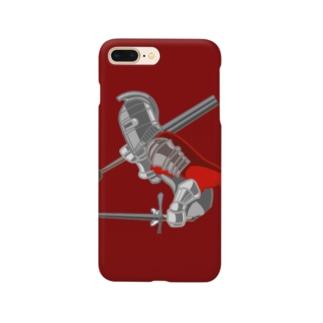 紅い騎士 スマートフォンケース