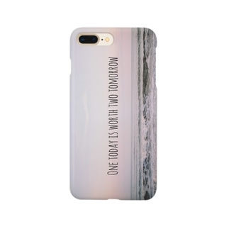 kaoru_andのOne today is worth two tomorrow. Smartphone cases