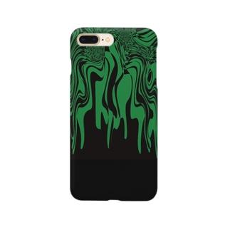 Green.Melt Smartphone cases