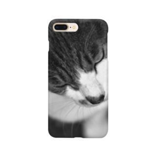 メンチねこ Smartphone cases