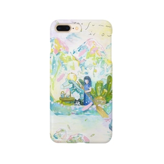 終わり行く夏 Smartphone cases