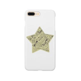 スターのデザイン Smartphone cases