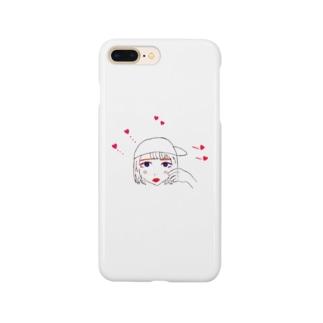 亞リズムのほっぺギュー Smartphone cases